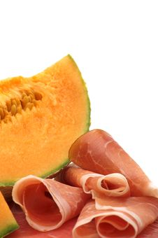 Free Delicacy -melon And Meat Stock Photo - 3730060