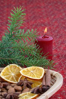 Free Christmas Still Life Royalty Free Stock Image - 3731536