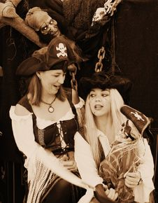 Free Pirates Girls Stock Photos - 3731693