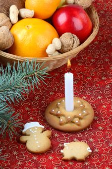 Free Christmas Still Life Royalty Free Stock Photography - 3731717