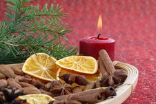 Free Christmas Still Life Royalty Free Stock Image - 3731786