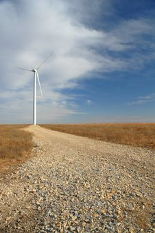 Free Great Plains Wind Farm Royalty Free Stock Photos - 3733468