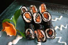 Free Sushi Royalty Free Stock Photo - 3733535