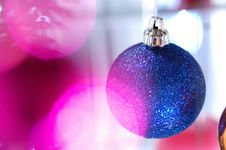 Free New-year`s Tree Decorations Royalty Free Stock Images - 3733569