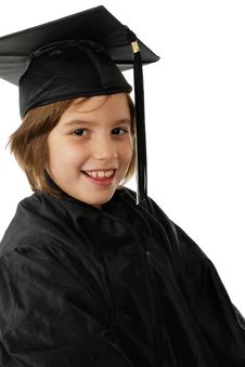 Free Primary School Graduate Stock Image - 3733621