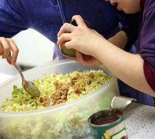 Free Vegetable Salad Royalty Free Stock Image - 3734196