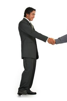 Free Shaking Hands Royalty Free Stock Photography - 3734847