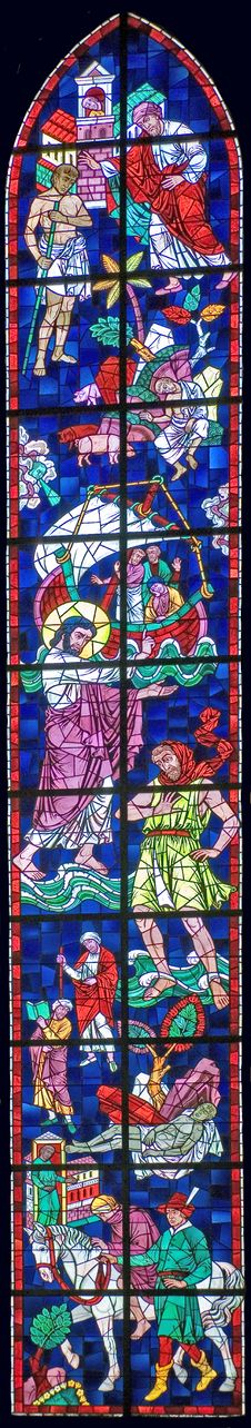 Free Stained-glass Window 60 Royalty Free Stock Photos - 3735758