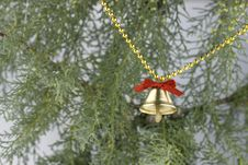 Free Christmas Bell Stock Image - 3736941
