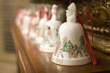 Free Christmas Bells Royalty Free Stock Images - 3737479