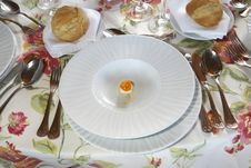 Free Plate On The Table Stock Images - 3738064