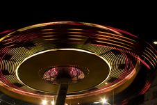 Fun Fair At Night Royalty Free Stock Photos