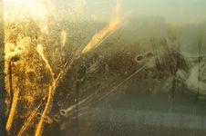 Free Golden Perspiration Abstract Royalty Free Stock Photo - 3738245