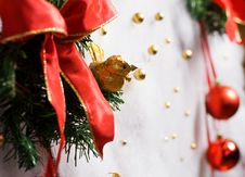 Free Abstract Christmas Decoration Stock Photography - 3738662