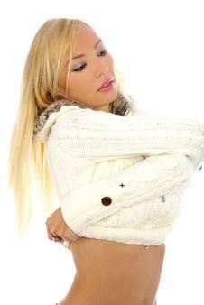 Free Beautiful And Sexy Blonde Girl Stock Photo - 3739200