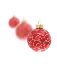Free Three Christmas Toy Balls Royalty Free Stock Photo - 3739445