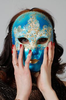 Free Venetian Carnival Mask Stock Images - 3739474