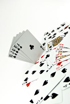 Free Poker Seriers Royalty Free Stock Photo - 3739625