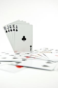 Free Poker Seriers Stock Photo - 3739630