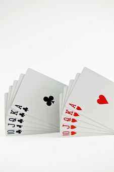 Free Poker Seriers Stock Photo - 3739640