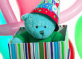 Free Teddy In A Box Stock Image - 3740421