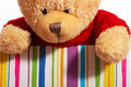 Free Teddy In A Box Royalty Free Stock Photography - 3740457