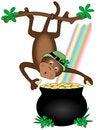 Free Leprechaun Monkey Royalty Free Stock Photography - 3747107