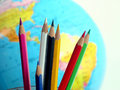 Free Colorful Pencils Royalty Free Stock Image - 3749326