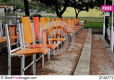 Free Enjoy Sitting In The First Row Stock Photos - 3745773
