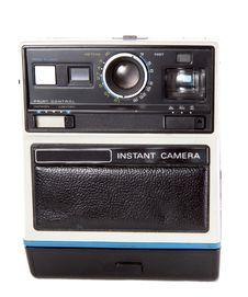 Free Retro Instant Camera Royalty Free Stock Photo - 3740105