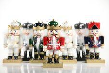 Free Nutcracker Army Stock Image - 3740171