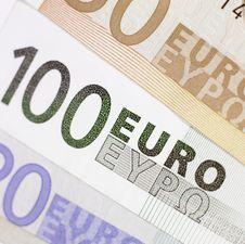Free Euros Royalty Free Stock Image - 3741366