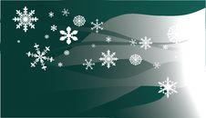 Free Illustration With Snowflake Background Stock Photos - 3741583