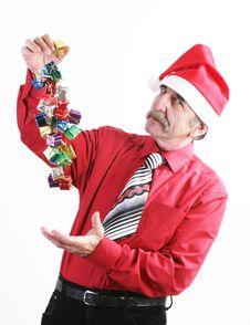 Free Santa Man Stock Photos - 3741863