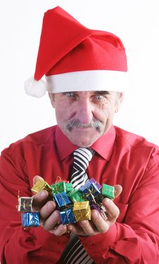 Free Santa Man Royalty Free Stock Photo - 3742015