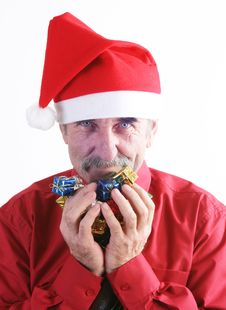 Free Santa Man Stock Photo - 3742090