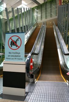 Free Escalators Stock Photos - 3742403