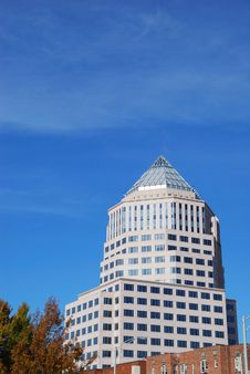 Free Downtown Charlotte North Carolina Royalty Free Stock Photo - 3743755