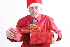 Free Santa Man Stock Photography - 3743822