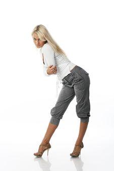 Free Blonde Woman Royalty Free Stock Image - 3744146