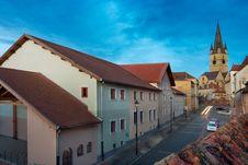 The Evangelic Church Sibiu Stock Image