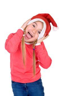 Free Cute Little Santa Stock Photography - 3744582