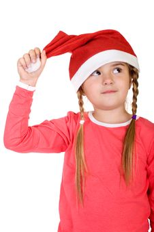 Free Cute Little Santa Royalty Free Stock Photo - 3744665