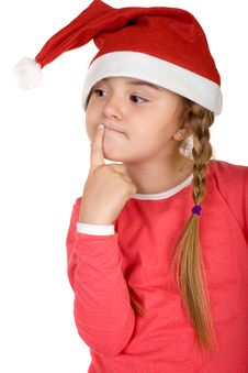 Free Little Santa Royalty Free Stock Photos - 3744968