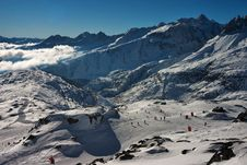 Free Ski Sceninc Image In Swiss Alps Stock Photography - 3745242