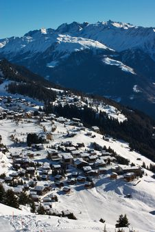 Free Riederalp Village In Swiss Alps Stock Photos - 3745313
