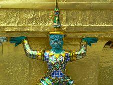 Free Grand Palace Wat Phra Kaeo, Bangkok Stock Photography - 3745362