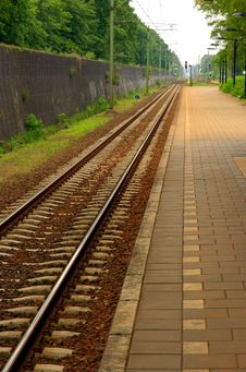 Free Rail Tracks Stock Photo - 3745430
