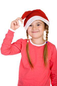 Free Cute Little Santa Royalty Free Stock Photography - 3745497