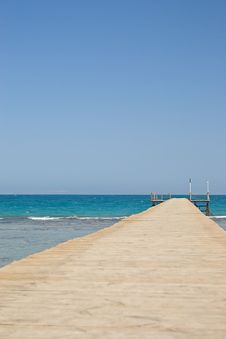 Free Pontoon On The Sea Stock Photo - 3745800